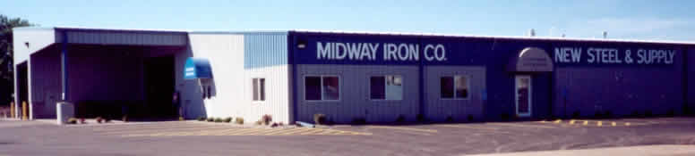 Midway Iron New Steel Building