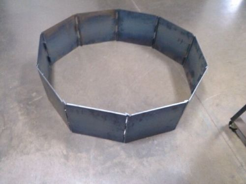 Campfire Fire Pit Ring Insert Blank 40 Quot Decagon Heavy